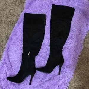 Forever21 Thigh-high Black Boots